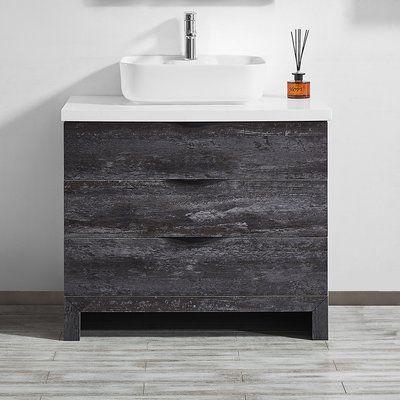 Union Rustic Kelsey 35 Single Bathroom Vanity Set Single Bathroom Vanity Vanity Vanity Set