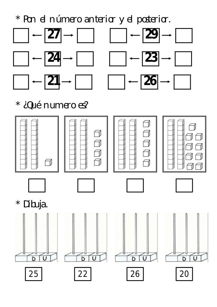 Conoce Numeros Del 0 Al 30 Matemáticas Familias De Números