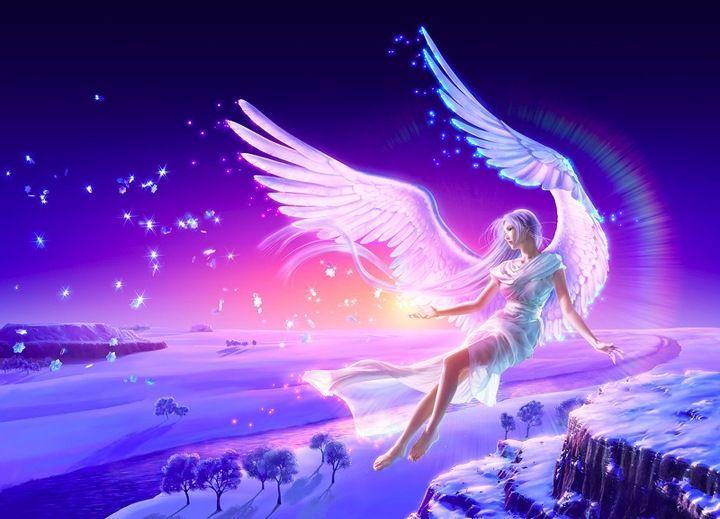 kagaya | Картины с ангелом, Фэнтези и Фантастический мир