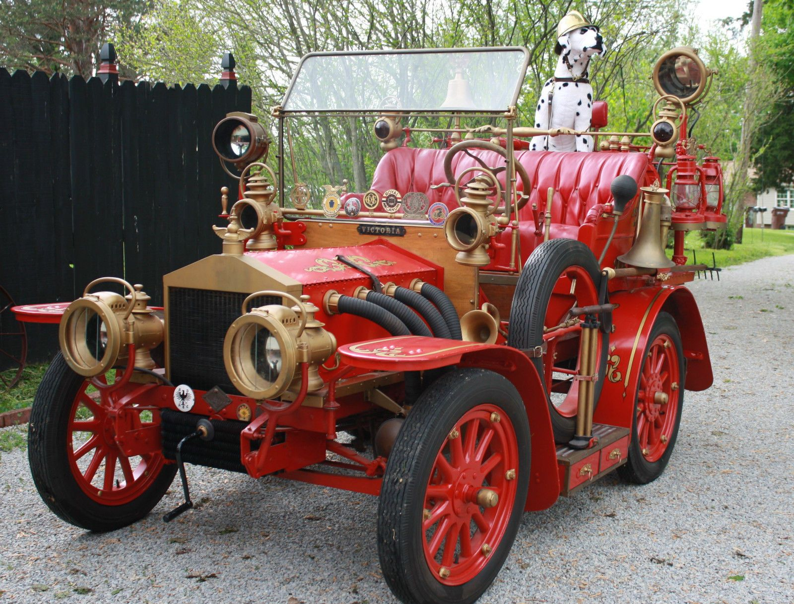 1916 Ford Model T Fire Chief\'s Car - CarBiid.com ...