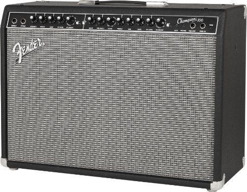 Fender Champion 100, Guitar Amplifier, Black  http://www.instrumentssale.com/fender-champion-100-guitar-amplifier-black-2/