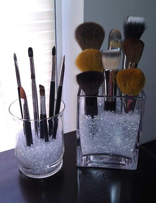 How To Store Makeup Products? - Ways to Store Makeup Brushes