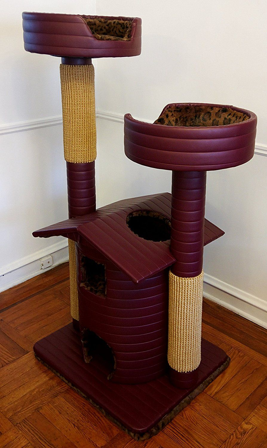 Royal Cat Boutique Ultra Luxury Cat Condo Be Sure To Check Out This Awesome Product This Is An Affiliate Link Cattre Luxury Cat Cat Tree Condo Cat Condo