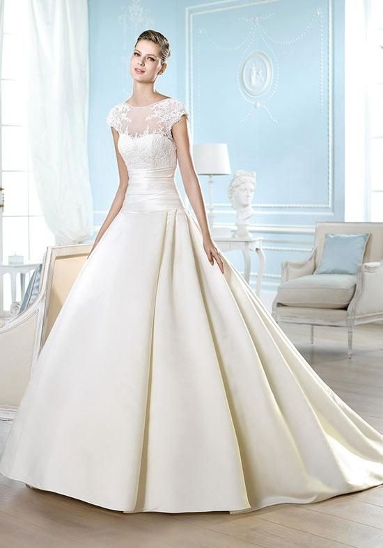 293c72a17f7 ST. PATRICK Costura Collection - Harriet Wedding Dress - The Knot ...