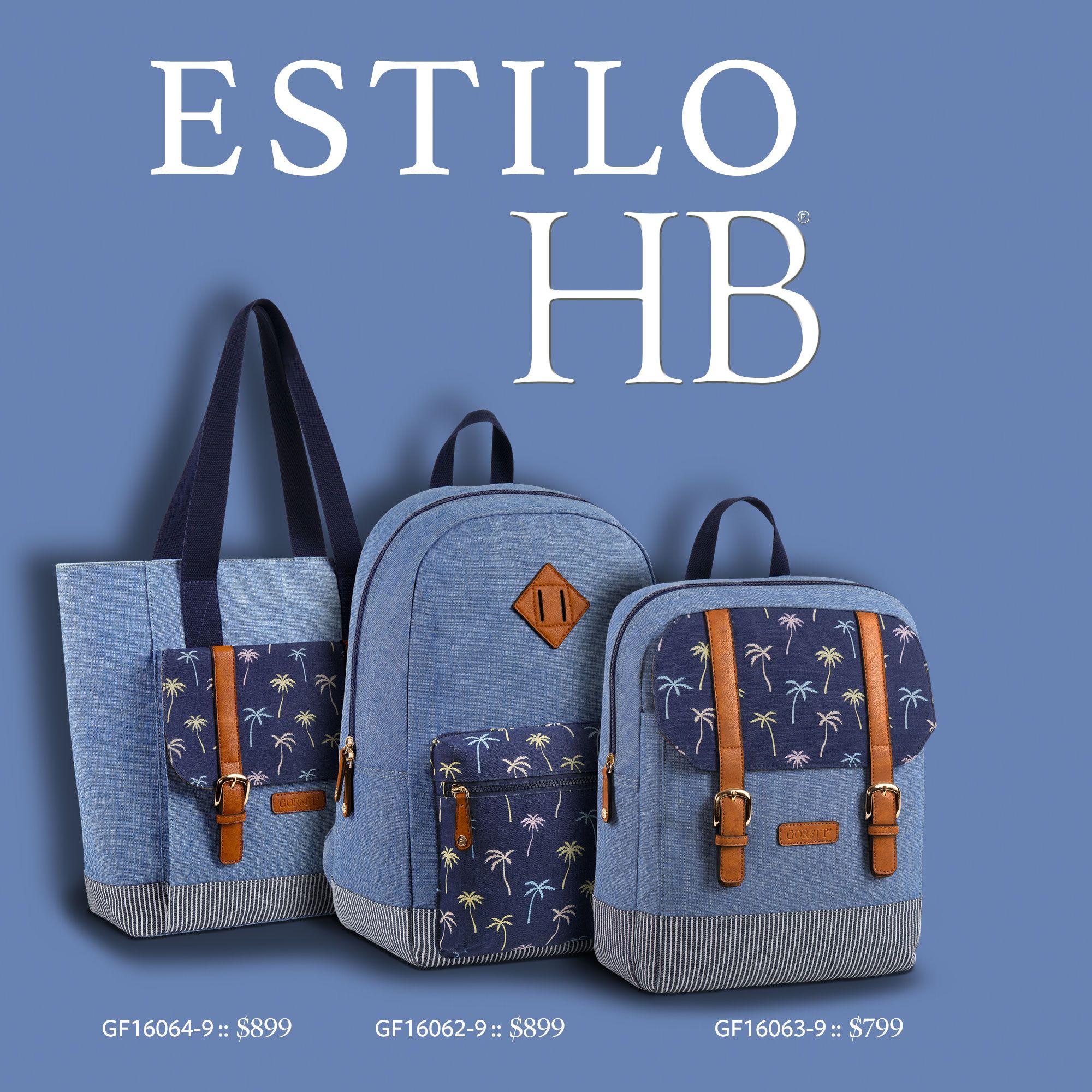 La vida es mejor con el estilo de los bolsos y mochilas de #HB® #Handbags #Bolsos #Mochilas #Moda #Hipster haz de cada día un juego casual