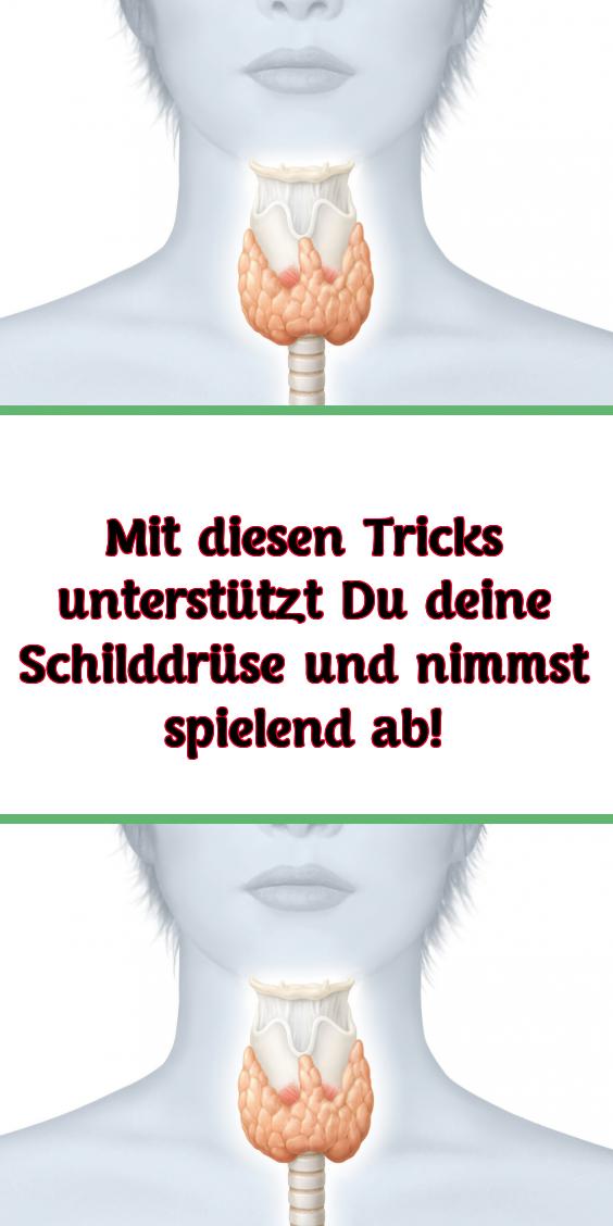 Mit diesen Tricks unterstützt Du deine Schilddrüse und nimmst spielend ab! #hairhealth