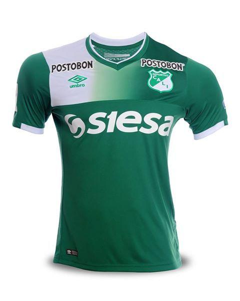 Camiseta del Deportivo Cali 1 Semestre Año 2017  fa63f733ad553