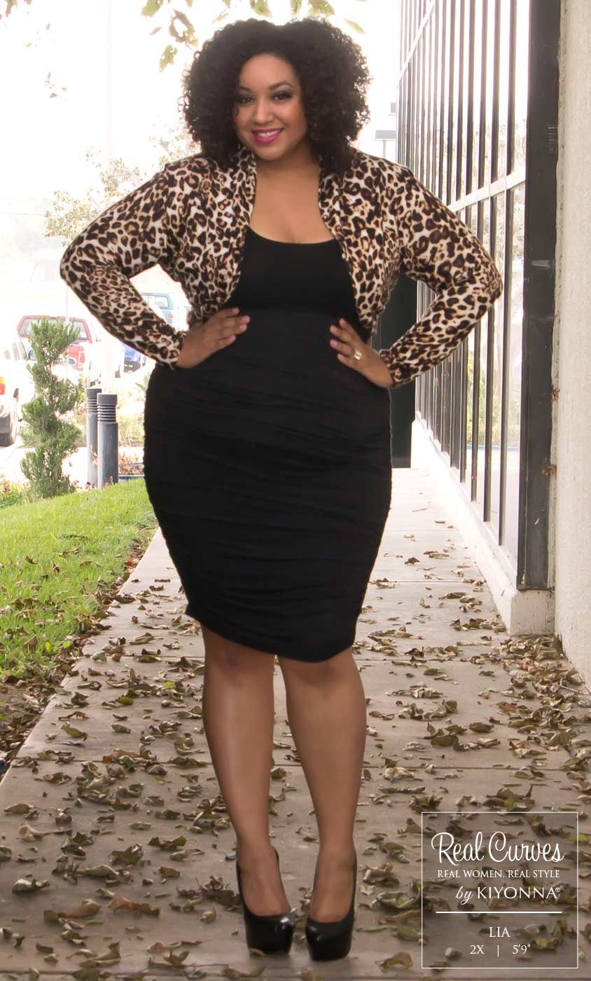 Real Curve Cutie Lia (59 and a size 2x) is ready for any