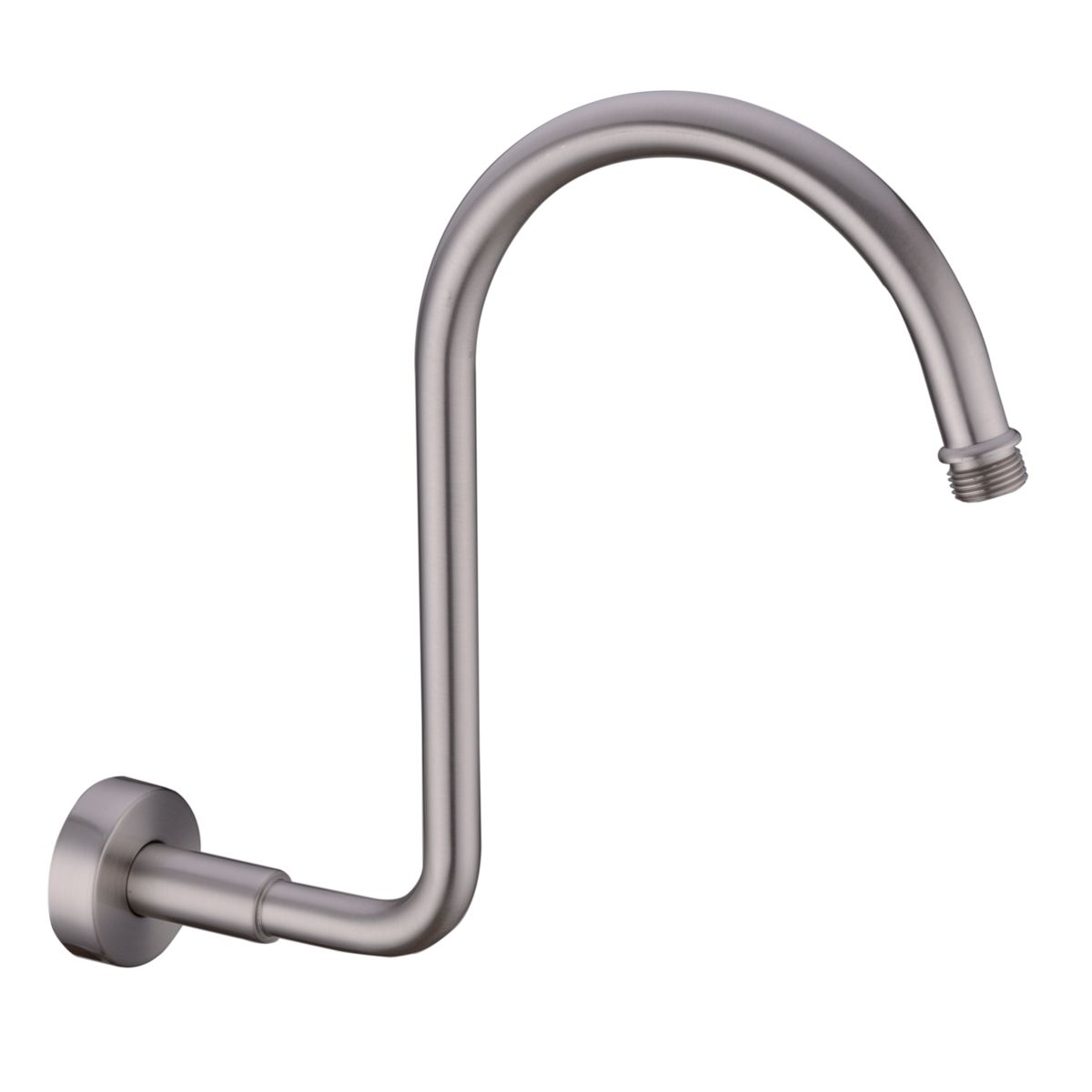 North American Standard Gooseneck Extension Shower Arm for Rainfall ...