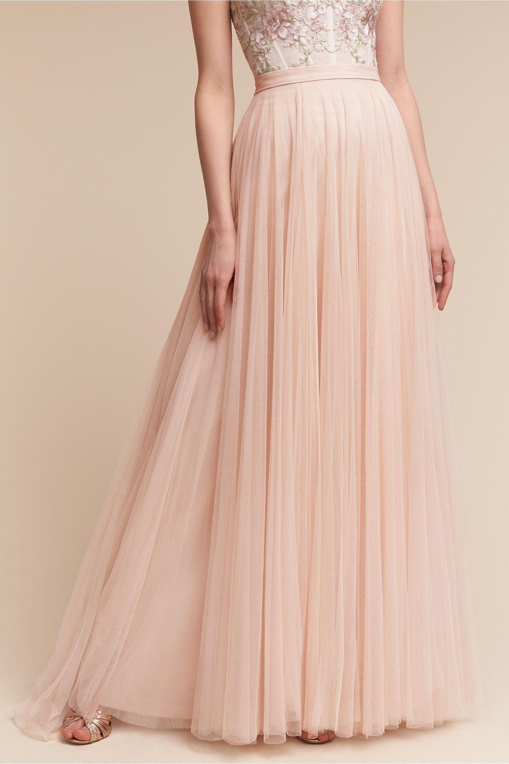 Build your own wedding dress  BHLDN Amora Skirt in Bride  BHLDN  Wedding Gowns  Pinterest