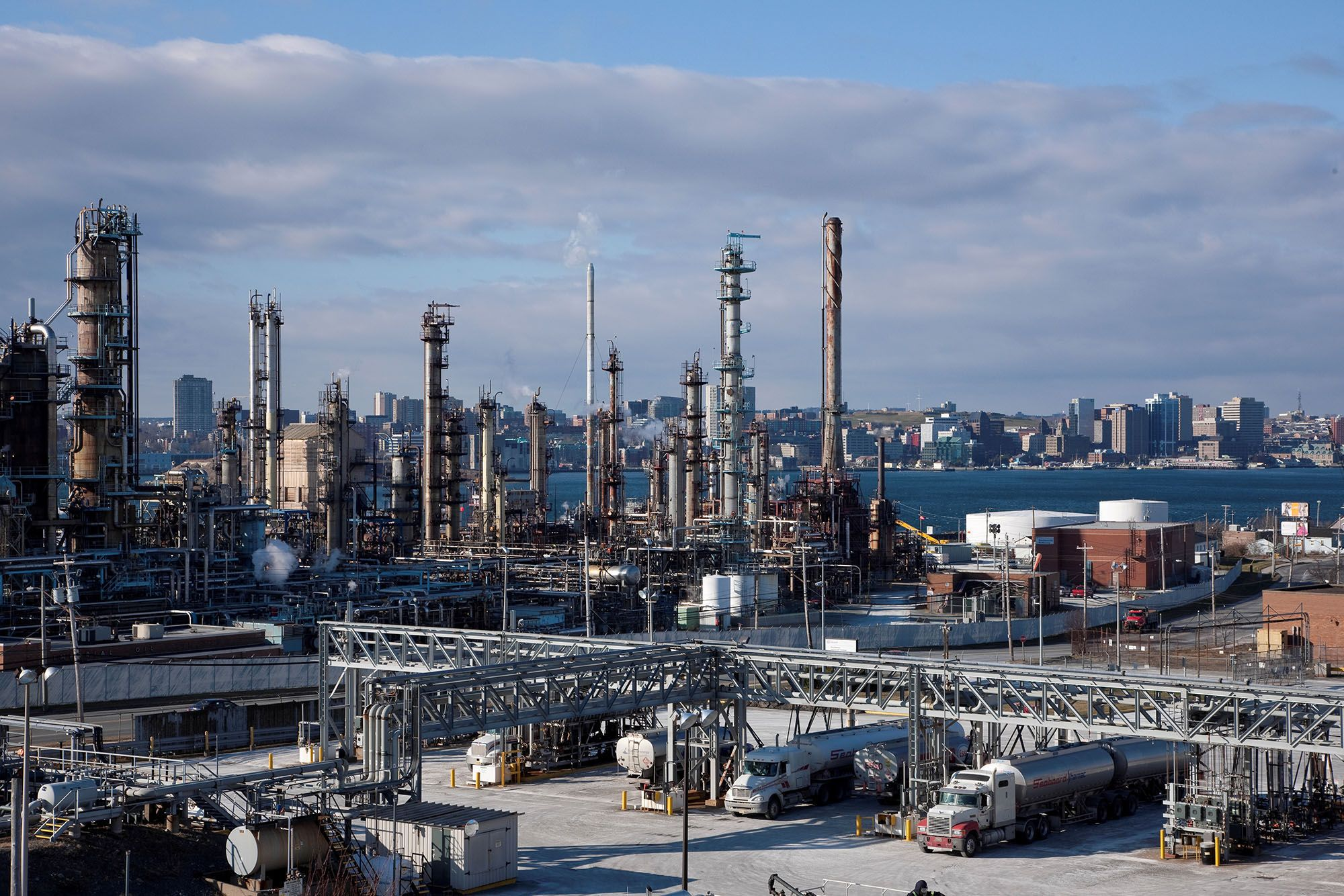 Looks like Imperial Oil is hutting down the refinery, and Converting to a  terminal operation