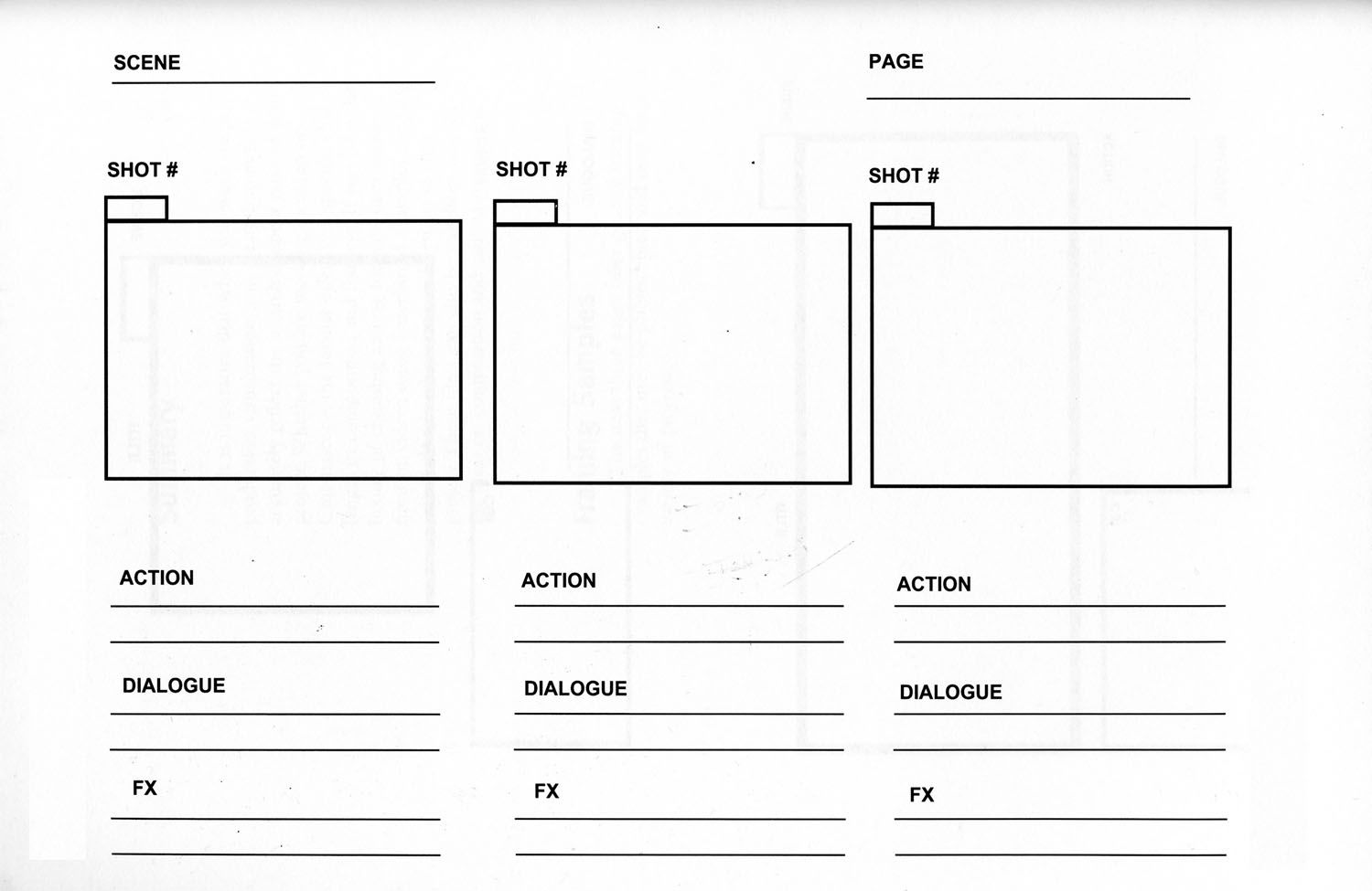 What storyboard templates do you like to use Let us know so we – Free Storyboard Templates