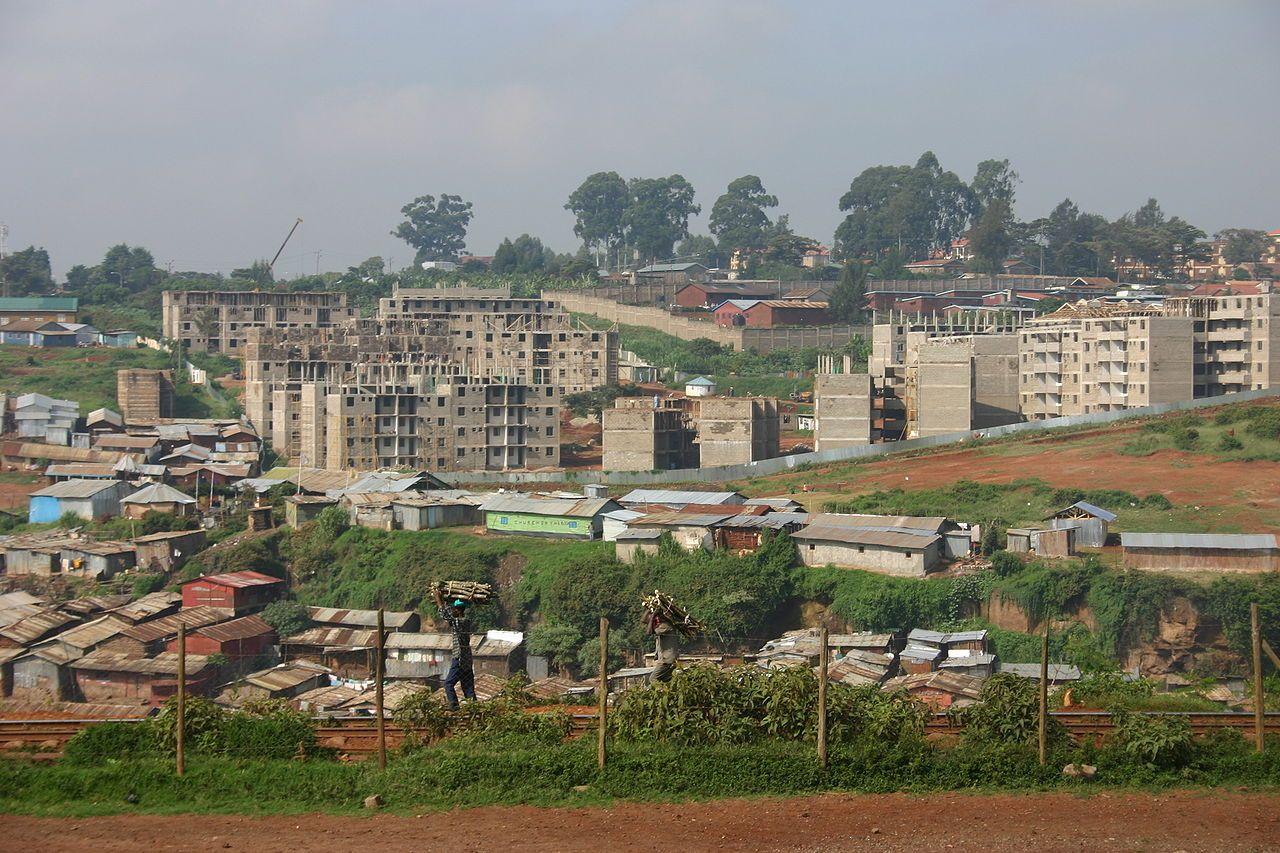 Kibera Bidonville Kenya Gn