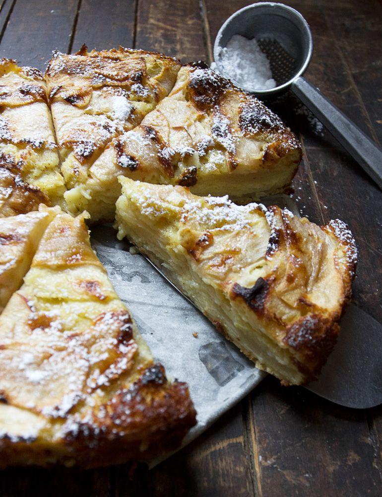 Invisible Apple Cake Recipe Apple recipes, Sweet