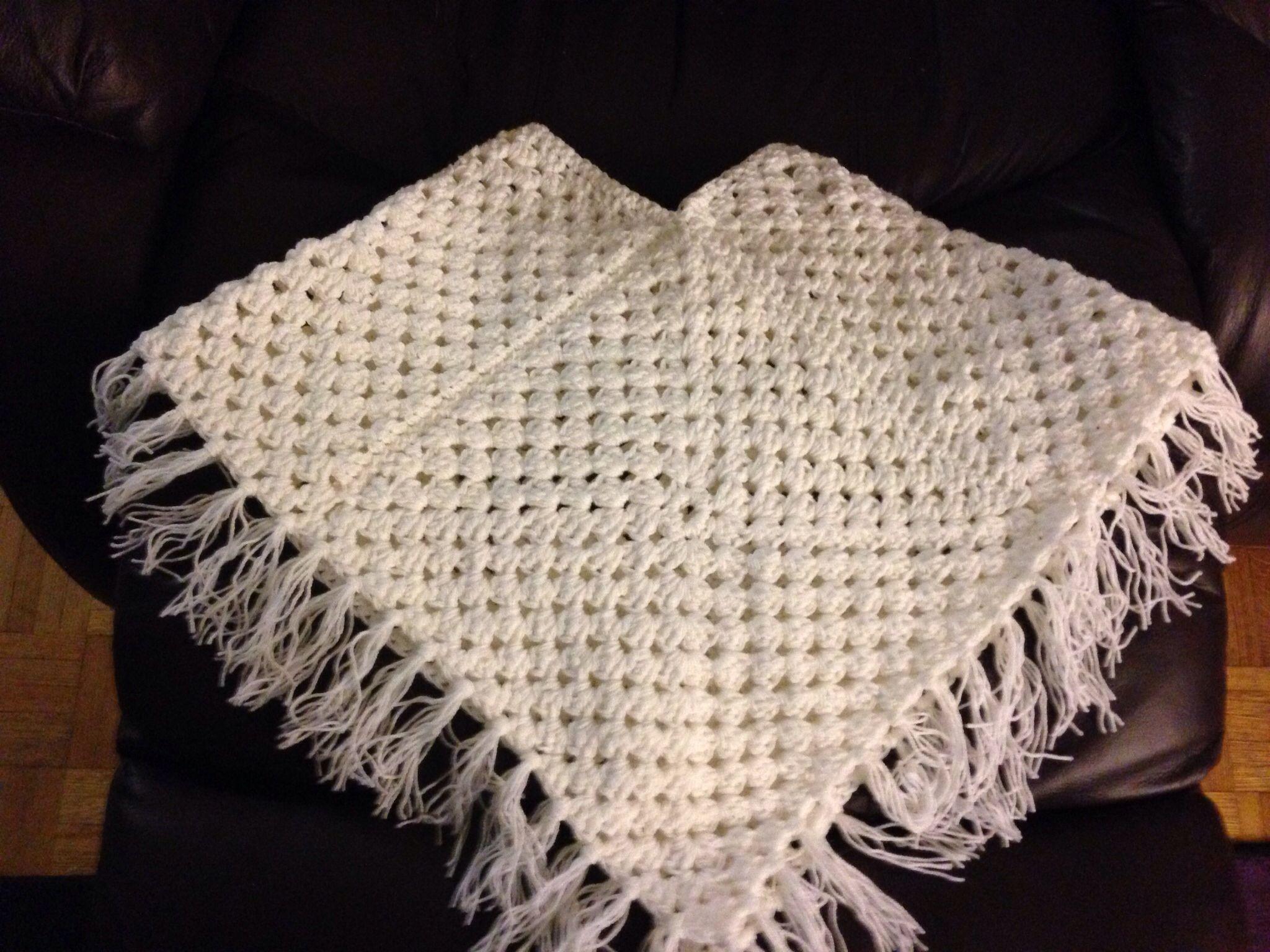 Little girls ponchp | Crochet | Pinterest