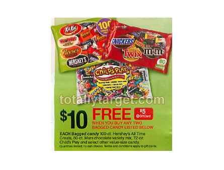 Halloween Candy Deal at Target | Free $5 Gift Card Offer