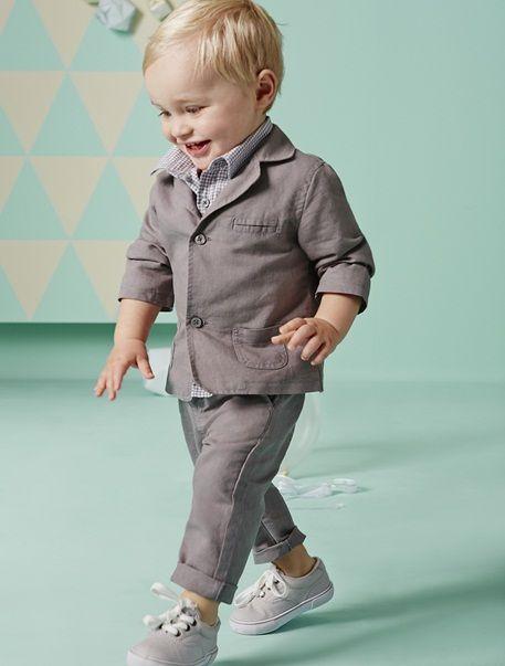 Cooles Outfit für kleine Jungs! | Ropa para bautizo, Niño ...