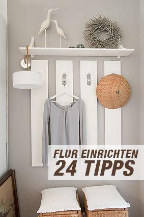 24 tipps f r den flur flur pinterest for Raumgestaltung 24