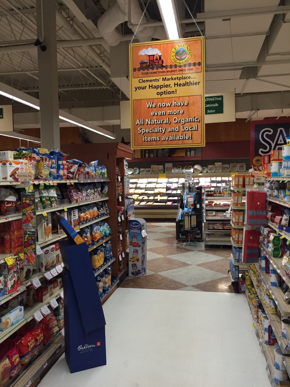Aisle signs Marketing design, Healthy options, Are you happy