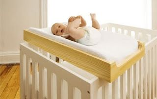 Diy Crib Top Changing Table Totally Want This Instead Of