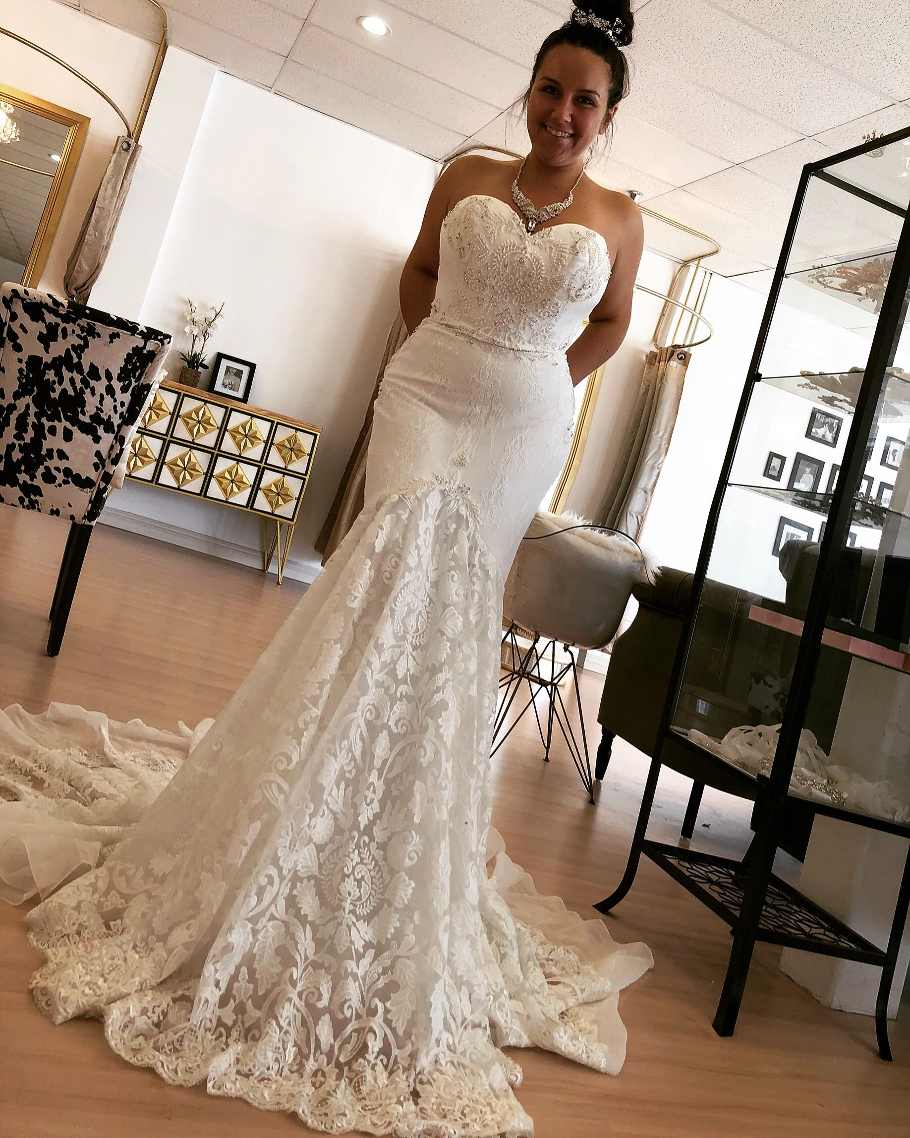 Lacy Mermaid Dress Wedding Dresses Bridal Wedding Dresses Bridal Dresses
