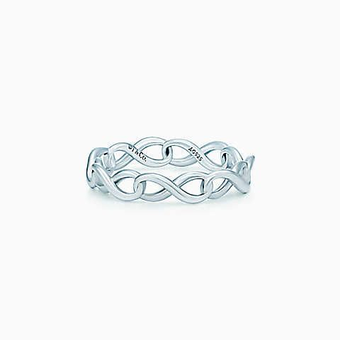 Love This Tiffany Infinity Narrow Band Ring In Sterling