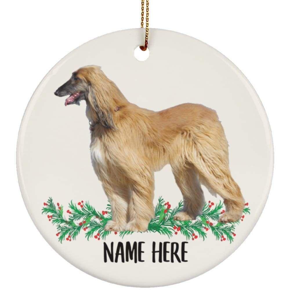 Afghan Hound Ornament