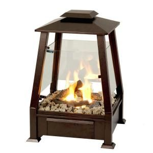 Real Flame Sierra Outdoor Fireplace In