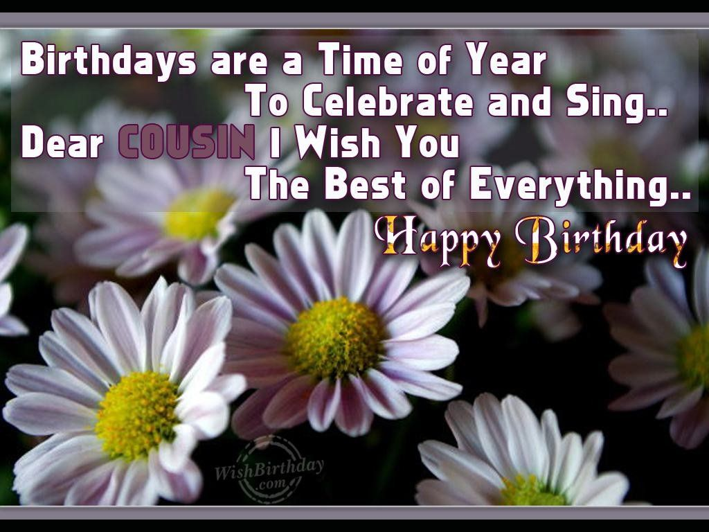 Have a fantastic birthday to my dearest cousin greeting cards birthday wishes for brother in law images kristyandbryce Gallery