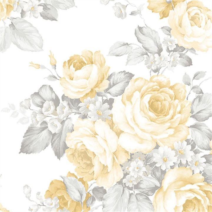 Wallpaper Of Yellow Rose: A Stunning Yellow Rose Wallpaper From The Book Grand