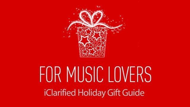 Holiday Gift Guide: For Music Lovers - http://iClarified.com/46057 - Looking to find a gift for that music fan or musician in your life? Here are some music-related give ideas.