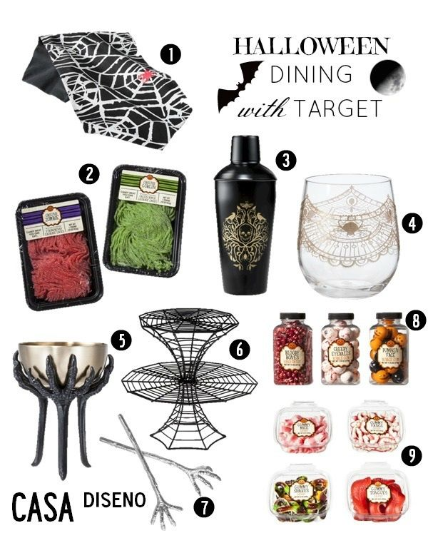 Halloween Decorating with Target @Target #decorating #home #dining
