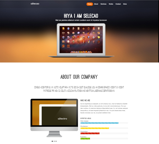 Smooth Layout Website Template Free Download Free Website Templates Website Template Ecommerce Website Template