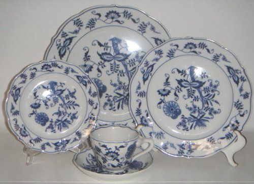 Amazon.com : Blue Danube Blue Danube 5 Piece Place Setting : Other Products : Everything Else