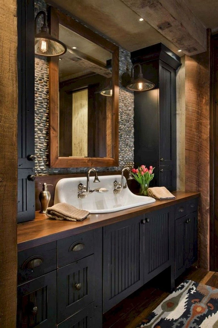 15 Shocking Small Bathroom Remodel Modern Ideas Farmhouse Master Bathroom Rustic Bathrooms Rustic Bathroom Designs