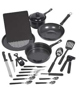 Argos Value Range 20 Piece Kitchen Essential Starter Set