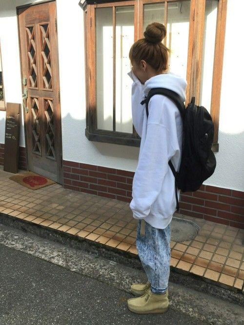 ほぼほぼまいにちオーバーサイズ😋 Instagram→saaache3