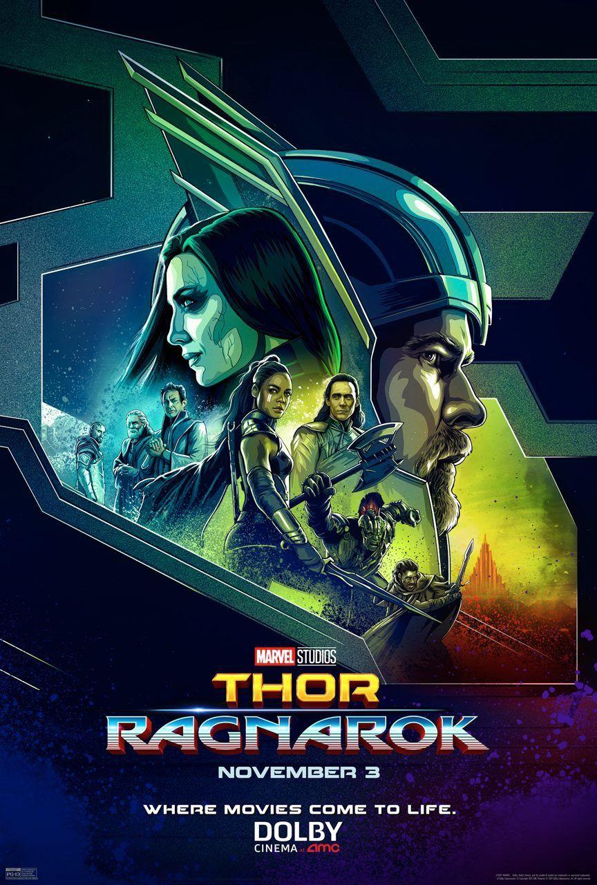 Test Blu-Ray 4K Ultra HD : Thor: Ragnarok