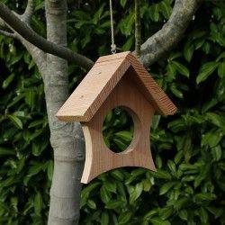1pc Mangeoire à Oiseaux Sauvages Suspendu Boule De Graisse Jardin Station