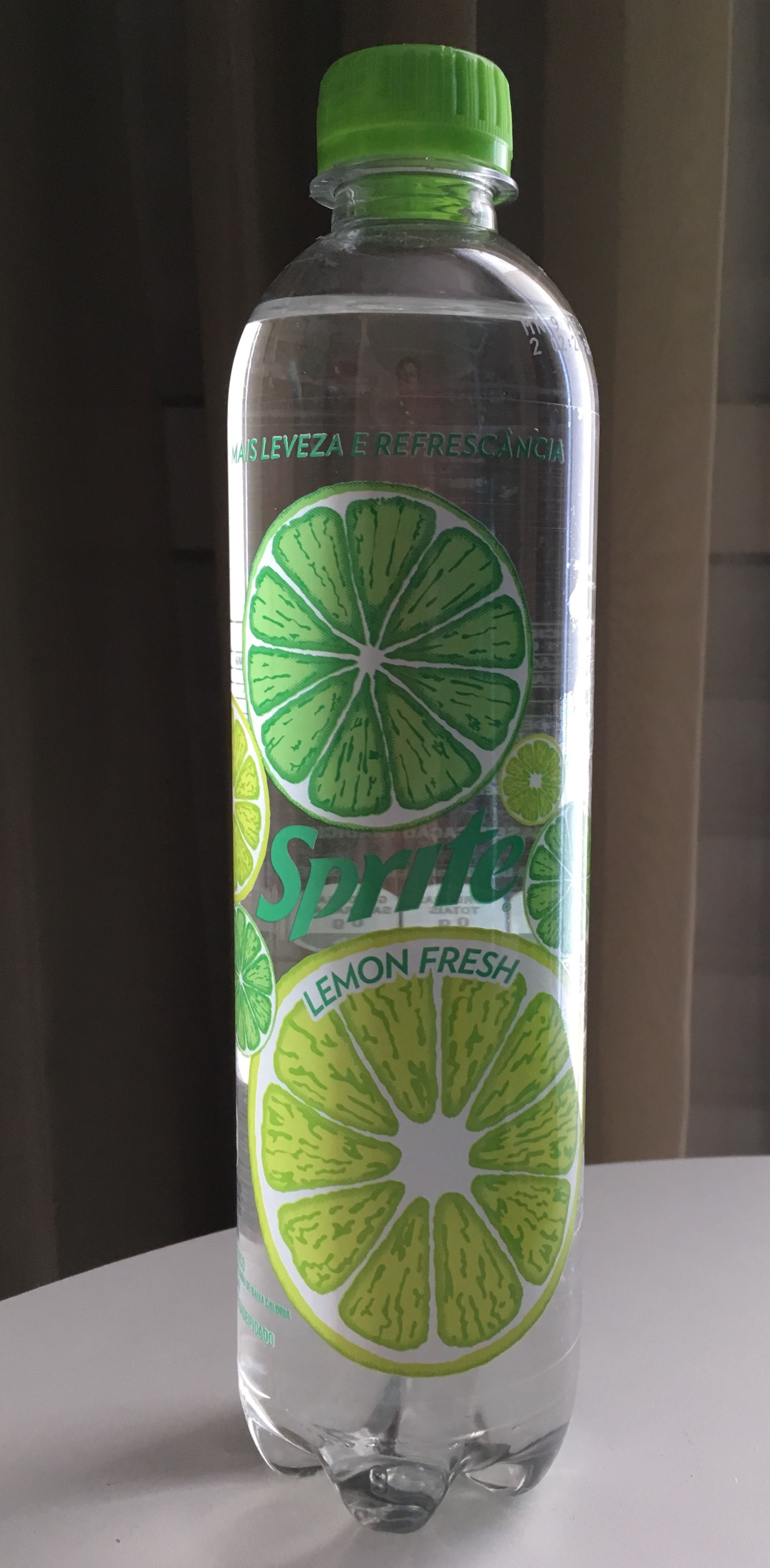 Sprite Lemon Fresh zero in a plastic bottle - Brazil 2019 | Soda