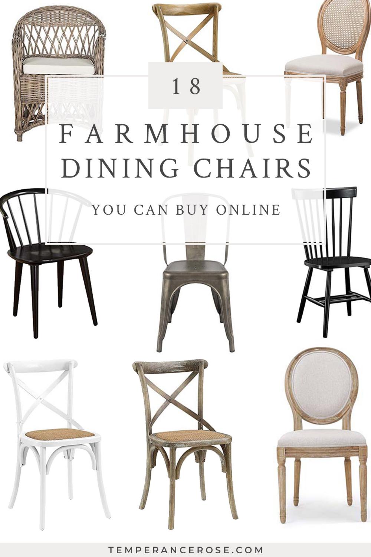 25+ Farmhouse wood dining chairs ideas