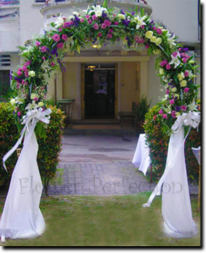 Wedding arch and bridal arch from flower perfection hampshire wedding arch and bridal arch from flower perfection hampshire junglespirit Gallery