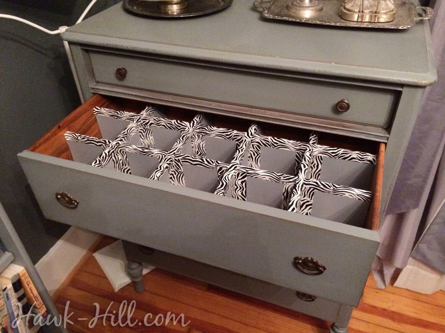 How To Make Durable Drawer Dividers For Pennies: Hawk-Hill