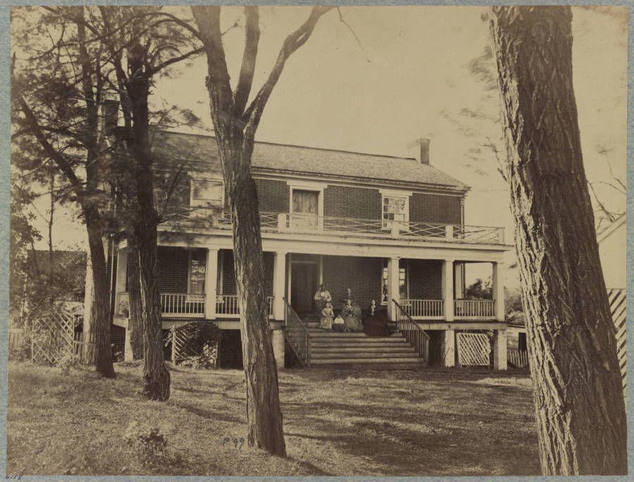 Civil War House Sepia American Civil War Civil War History Civil War