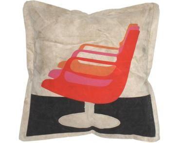 Eames Stoel Kussen : Kussen canvas chair hk living orange