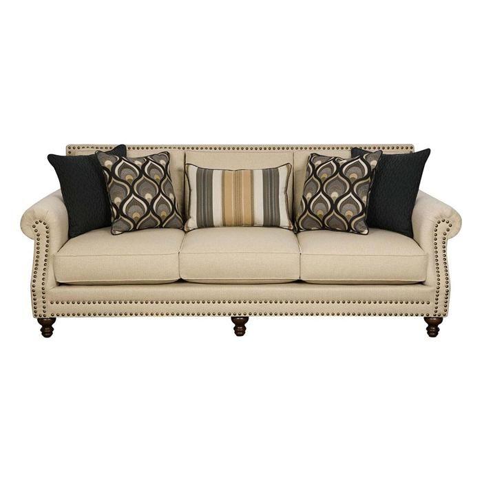 Sofa In Oatfield Oatmeal Nebraska Furniture Mart Furniture