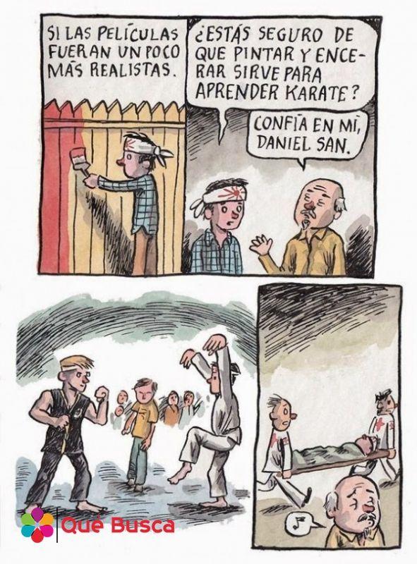 Comic Karate Kid Peliculas Gracioso Imagenes Divertidas Peliculas Humor En Espanol
