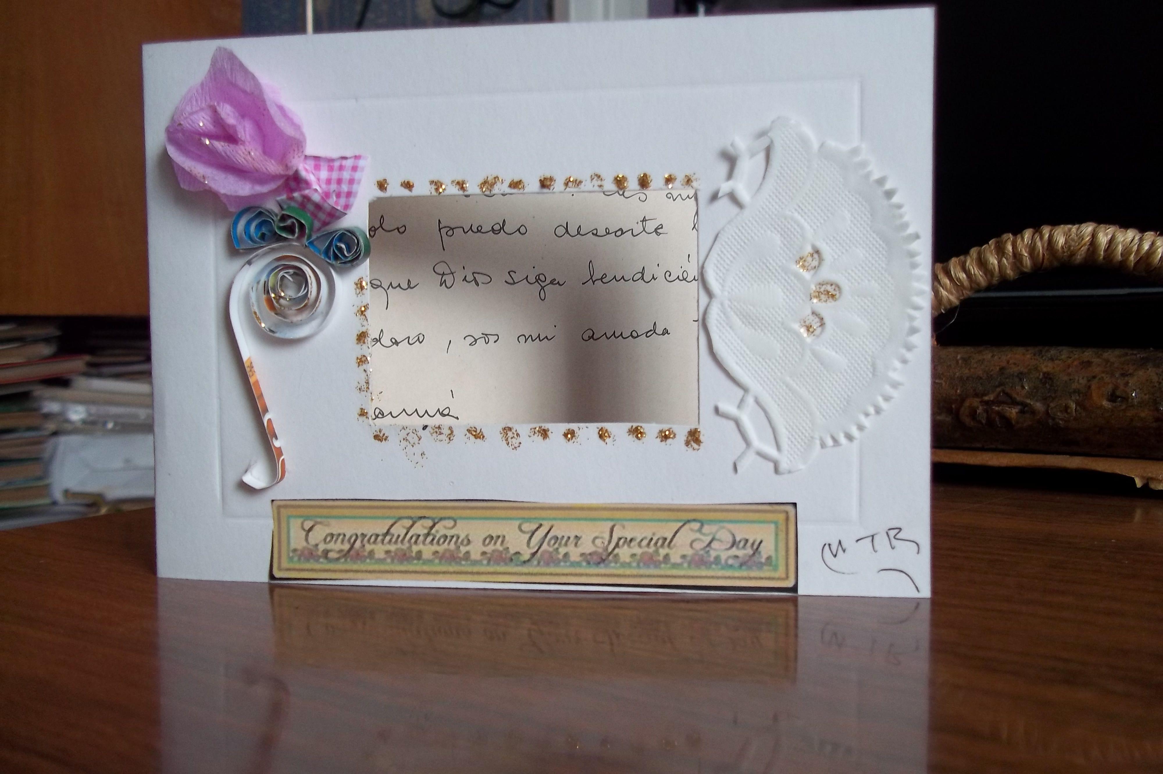 tarjeta de cumpleaños para mi hija tarjetas reitlin's cards Pinterest Cards