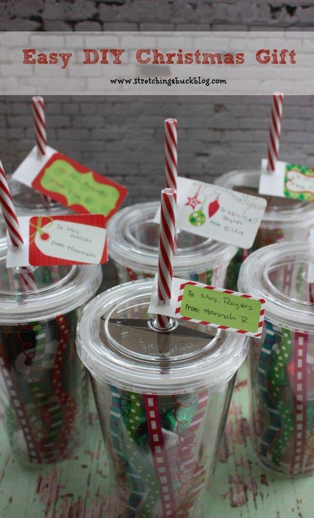 Easy DIY Christmas Gift Idea | Teacher Gifts | Gifts | Pinterest ...