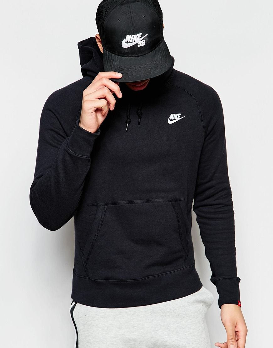 Nike AW77 Hoodie with Arm Pocket 545201-011